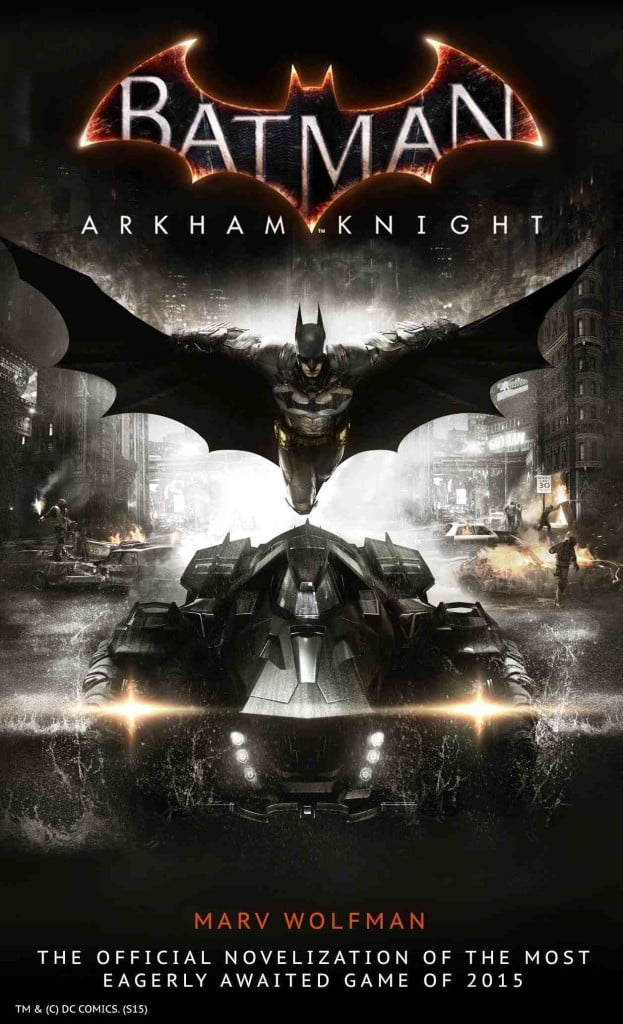 Batman: Arkham Knight is worth the read, especially if you love the games....but even if you've never played them.