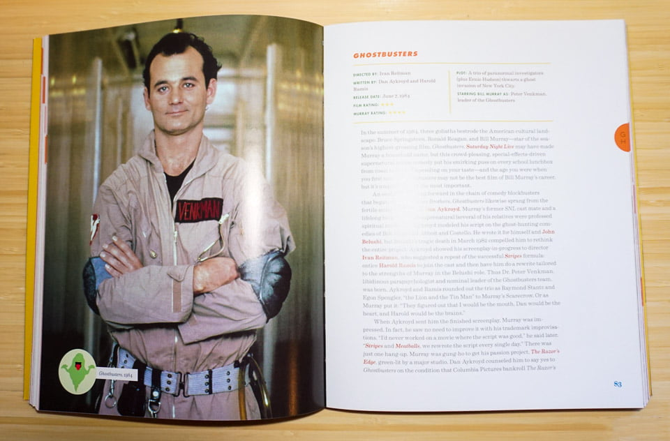Whole Lotta Murray: A Review of the Big Bad Book of Bill Murray (from Quirk Books)