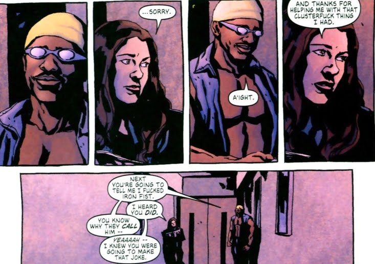 Does anyone else find Bendis to be rather    troubled? - Brian