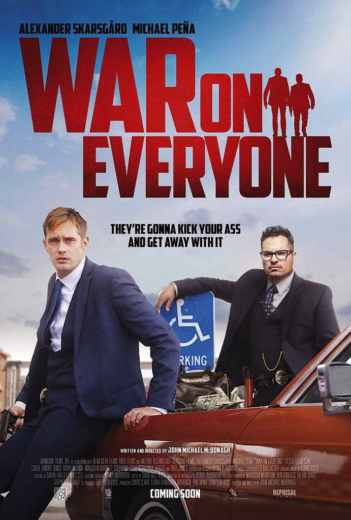 War on Everyone is equal parts blood and beauty.