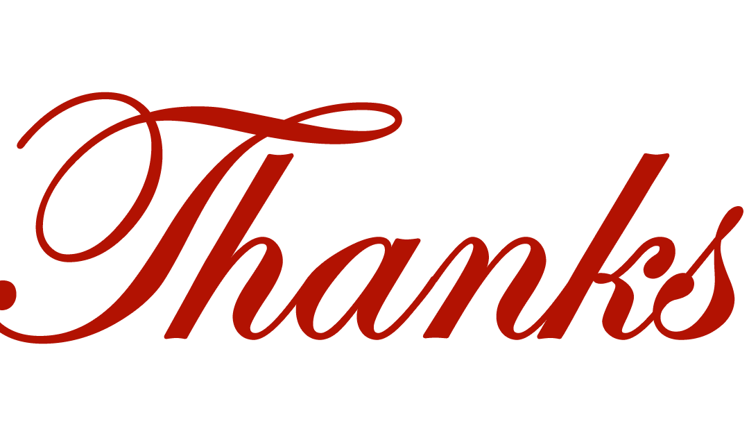 Fear and Loathing in Geekdom: Thank You