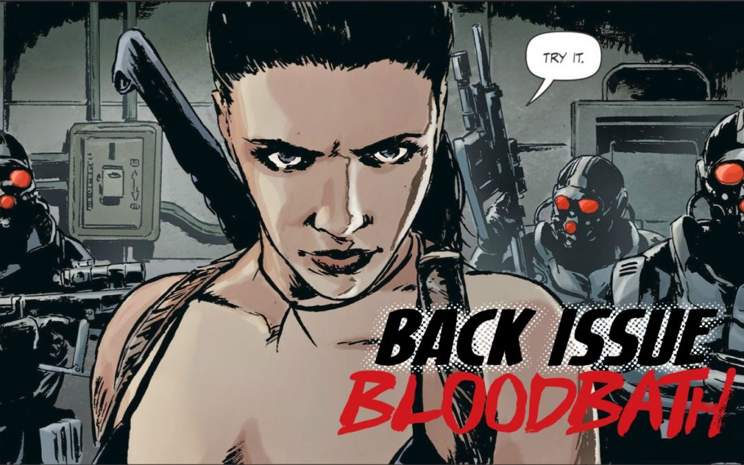 Back Issue Bloodbath Episode 69: Lazarus by Rucka and Lark