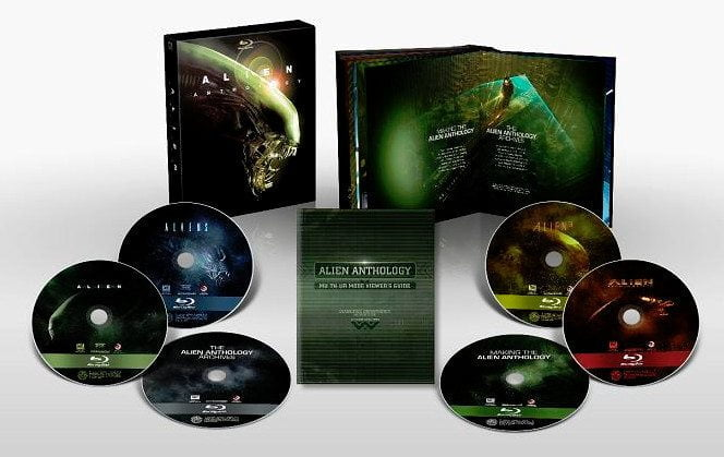 Contest: No One Can Hear You Scream in Space! (Win the Alien Anthology Blu-ray set)