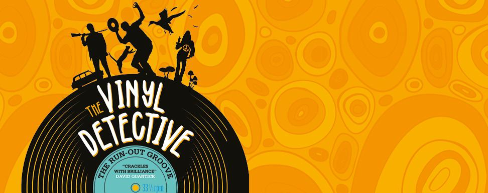 Andrew's Picks: The Vinyl Detective: The Run-Out Groove by Andrew Cartmel