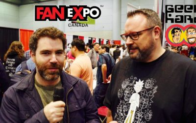 Geek Hard @ Fan Expo Canada 2017: An Interview with Adam Gorham