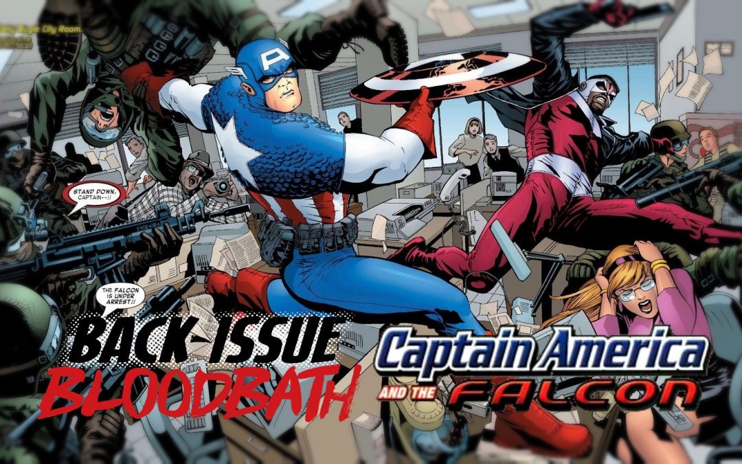 Back Issue Bloodbath Episode 282: Captain America and The Falcon by Christopher Priest